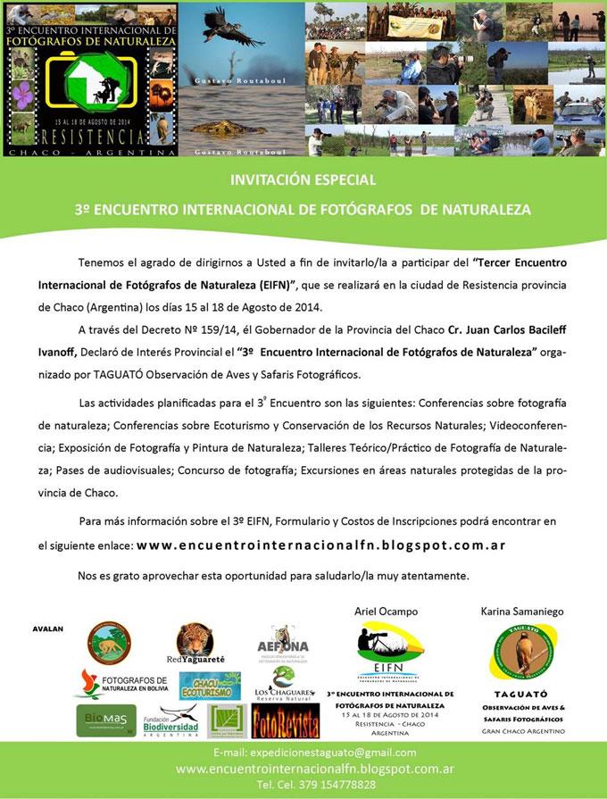 3º Encuentro Internacional de Fotógrafos de Naturaleza