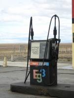No hay Nafta Super. Grasia.