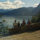 Brazo norte lago Futalaufquen