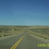 Caminos desolados hace el sur