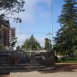 Escenario en la plaza de Victoria de la Orquesta