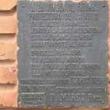 Placa con oraciòn
