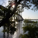 Puente que une Corrientes con Chaco