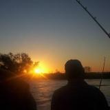 Regreso de excursión de pesca