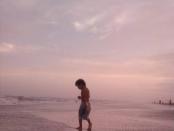 Nuestro último atardecer en Mar Azul