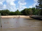 Playa en Tigre