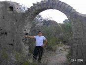 Restos de la Estancia Santa María de Lihué Calel