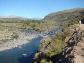 Río Nahueve en Neuquén