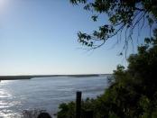 Vista al río Paraná