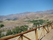 Vista en Andacollo