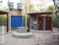 Sanitarios del Camping del Parque Provincial Loro Hablador