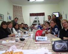 Mesa comunitaria en Tapalqué