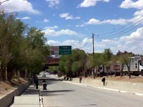 Ruta Nacional 9 en La Quiaca