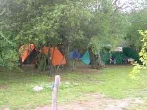 Acampada en el camping El Refugio de Merlo San Luis