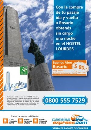 Promocion de Hostel Lourdes