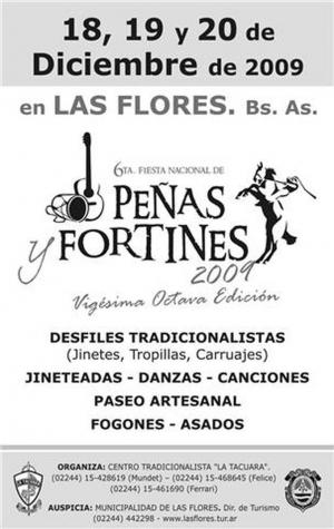 Peñas y Fortines 2009 en Las Flores, Buenos Aires
