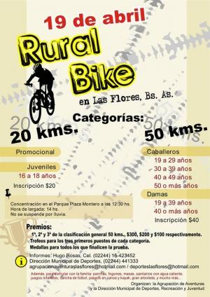 Rural Bike en Las Flores