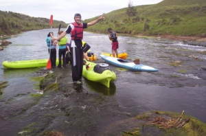 Aventura en Kayak por el Río Quequen Salado