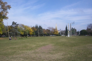 Campo de Gloria. Lugar de la batalla de San Lorenzo