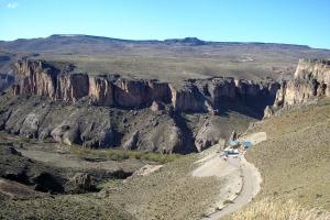 Perito Moreno, Provincia de Santa Cruz