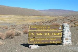 Parque Nacional San Guillermo, Provincia de San Juan