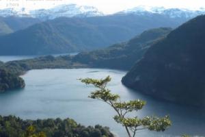 Chile. X Región Los Lagos. Hornopirén, Provincia de Paises Limitrofes