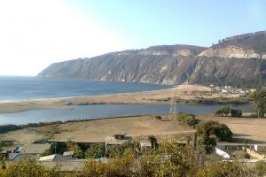 Chile. V Región. Valparaíso. Laguna Verde, Provincia de Paises Limitrofes