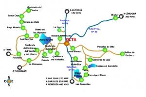 Olta, Provincia de La Rioja