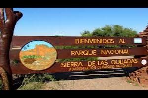 Parque Nacional Sierras de las Quijadas, Provincia de San Luis