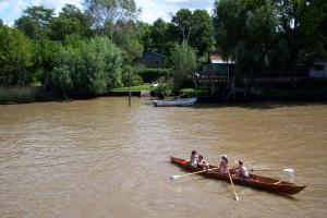 Tigre Río Sarmiento canoas
