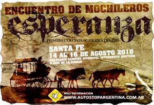 Autostop Argentina Afiche