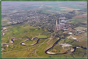 Vista aérea de Avellaneda