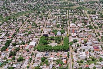 Vista aérea de Villa Gobernador Gálvez
