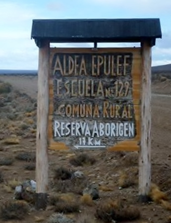 Aldea Epulef. Chubut