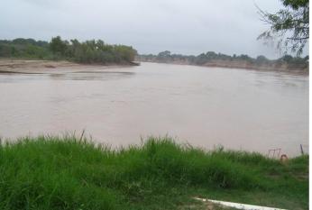 Río Bermejo en Presidencia Roca Chaco