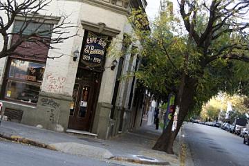 Barrio de Almagro. Café El Banderín