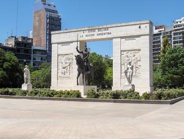 Caballito. Parque Rivadavia. Monumento a Simón Bolívar