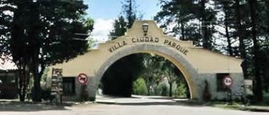 Arco de ingreso a Villa Ciudad Parque