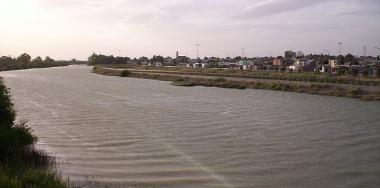 Desembocadura del río Chubut