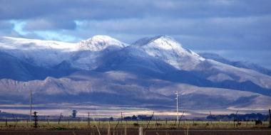 Sierra de la Ventana nevada