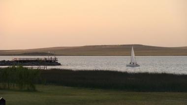Laguna Las Encadenadas. Foto de Club de Pesca Tornquist