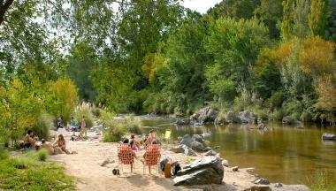 Río Los Reartes. Foto de Turismo Los Rertes