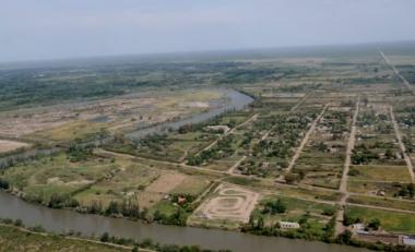 vista aérea de Río Colorado