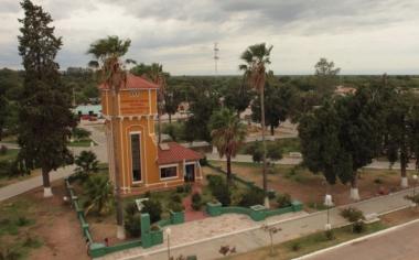 Plaza central de Candelaria