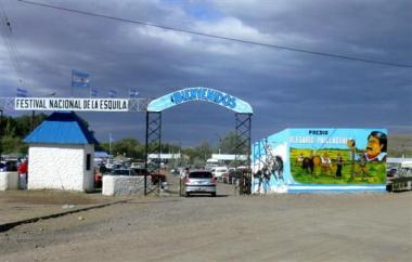 Fiesta de la Esquila. Río Mayo. Foto de chubut.gov.ar