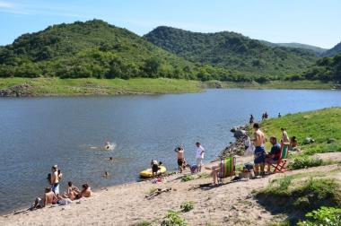 Dique La Quebrada. Foto de Dirección de Turismo de Río Ceballos