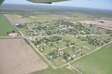 Vista aérea de Las Garzas. Foto de José Nalli
