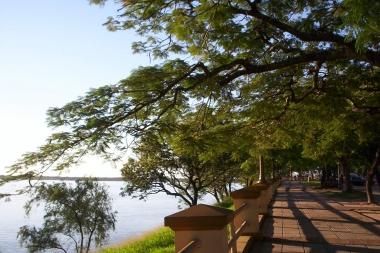Costanera de la ciudad de Corrientes