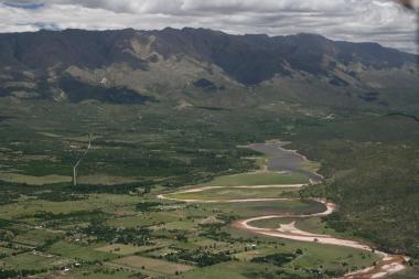 Dique La Viña. Foto de Secretaría de Turismo de Mina Clavero