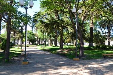 Plaza Colón de Carcarañá